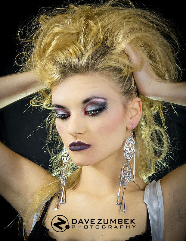 example of makeup for boudoir photography