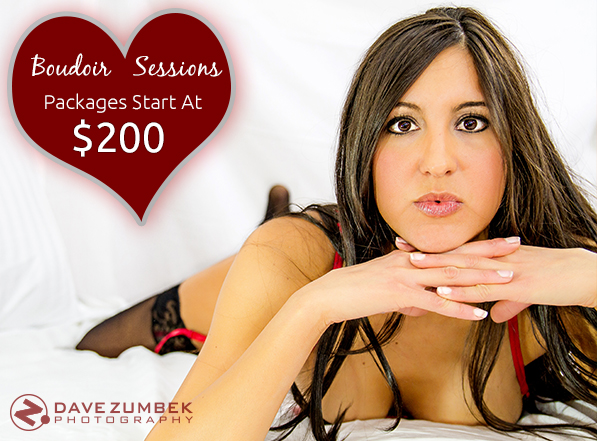 Boudoir Photo shoots starting at $200